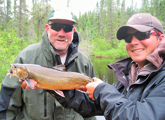 Record Brook Trout from Esnagami Lake in Ontario
