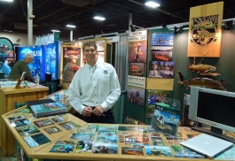 Eric Lund – Esnagami Wilderness Lodge podczas wystawy Fly Fishing Show w New Jersey, w ubiegły weekend
